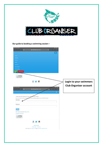 Payment on Club Organiser